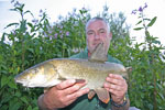 Mick lands another Dove Barbel