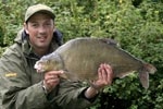Mike with a 12lb 2oz Bream